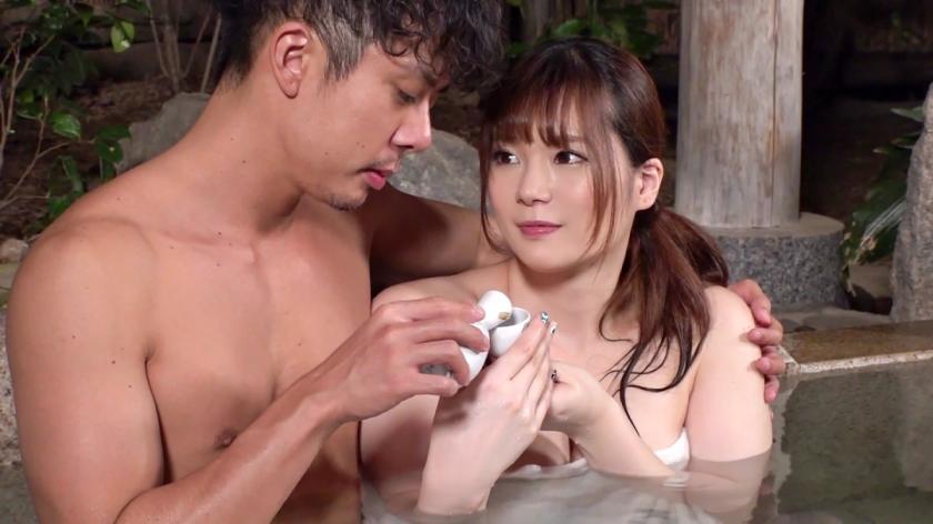 交際1年半のラブラブカップルを混浴温泉で寝取る!母性溢れ出るFカップ巨乳保育士のハメ潮を吹きまくった発情マ○コに無許可でNTR中出しw 326ONS-016 screenshot 4