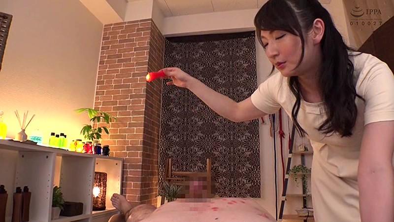 M男遊戯 ドSテティシャン 二階堂ゆりが客をいたぶり罵倒しジラして射精させてしまうメンズエステ店 二階堂ゆり MANE-006 screenshot 6