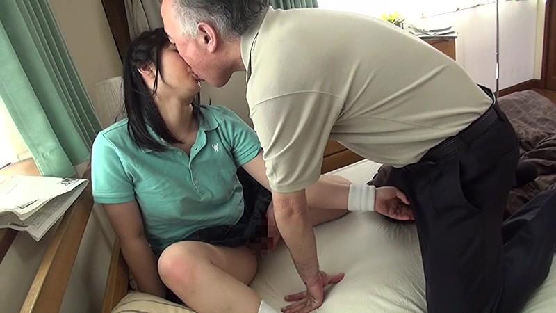 おじさん大好き部活美少女のよだれまみれ濃厚ベロちゅう淫交 浅田結梨 NITR-316 screenshot 2