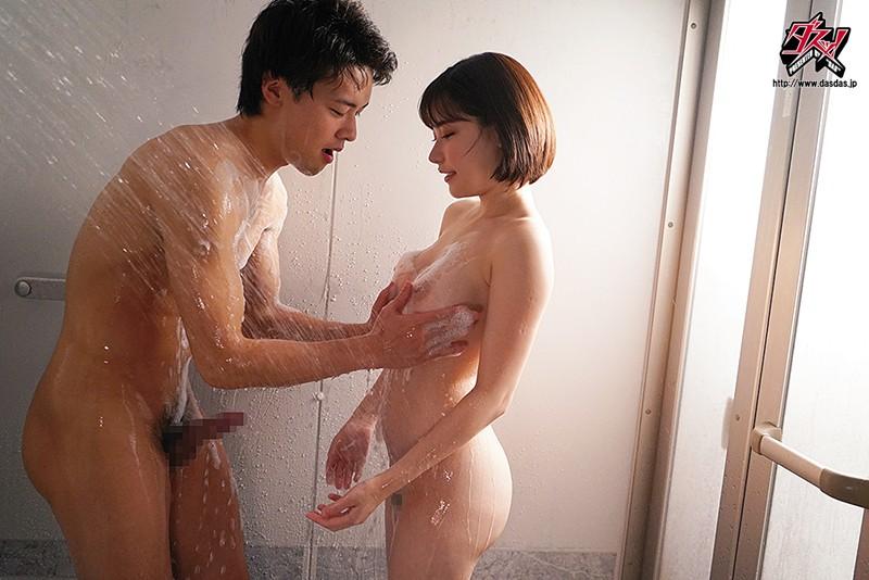 猥琐大叔附身强占美白的巨乳妹深田咏美身体和男朋友发情性交 DASD-754 screenshot 5