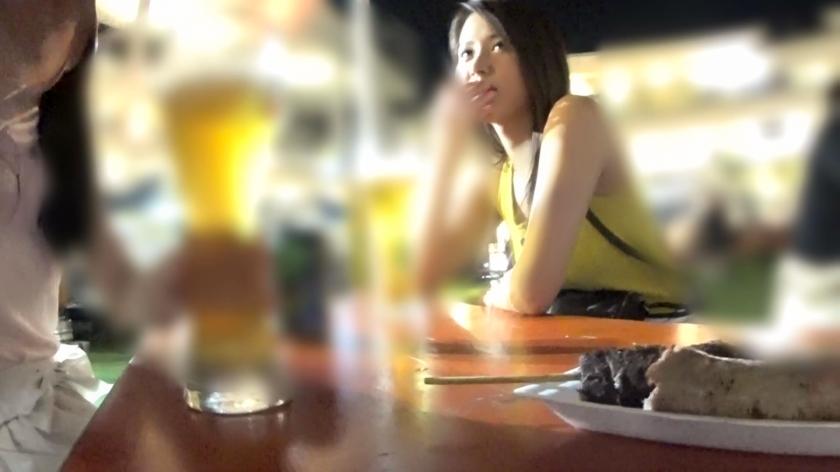 搭讪乱交啤酒节遇到的美女学姐趁着醉意把肉棒吸得咕噜咕噜 326EVA-103 screenshot 0
