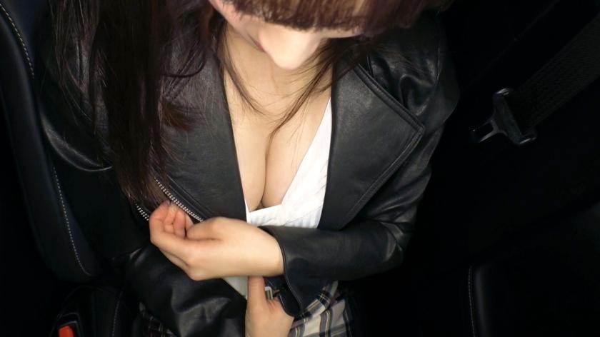 细腰巨乳的小姑娘拍摄AV的理由居然是想要变得更淫荡一看今天穿的超短裙就知道很有干劲 261ARA-416 screenshot 5