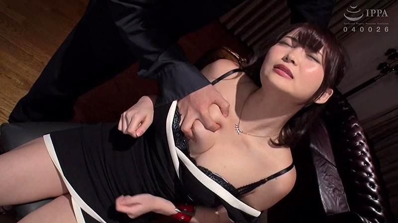 人妻追撃ピストン セレブな人妻を集団孕ませ陵辱 妃月るい DDHZ-002 screenshot 1