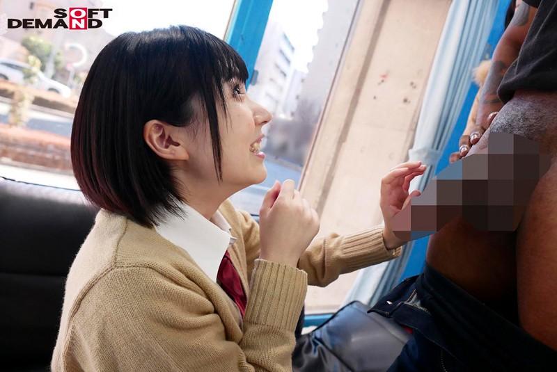 女子○生が初めてののどじゃくり黒人メガチ○ポ マジックミラー号 SDMM-014 screenshot 3