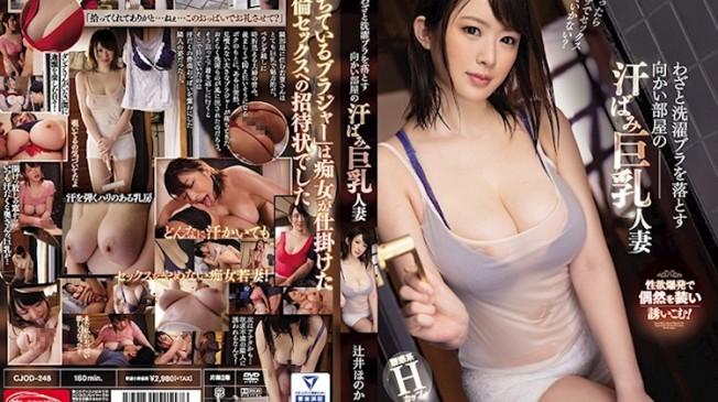 故意弄丟胸罩的巨乳人妻.辻井穗乃果