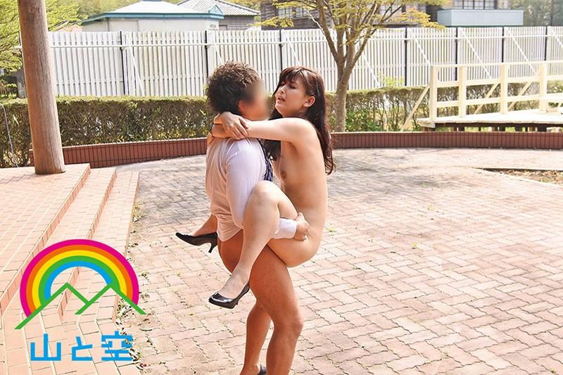 「もっと見て…」視姦願望を自制できない露出狂女教師 並木塔子 SOJU-014 screenshot 7