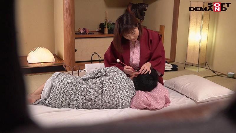 「とうとう、息子とつながっちゃいました!」甘すぎた献身ママと勃起が治まらない息子の近親相姦温泉旅行 SDAM-041 screenshot 8