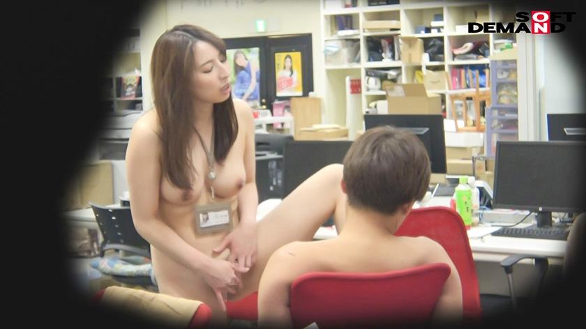 女子社员 吉冈明日海和被替换的我在公司里随意做爱!SEX生配信! 107NTTR-062 screenshot 6