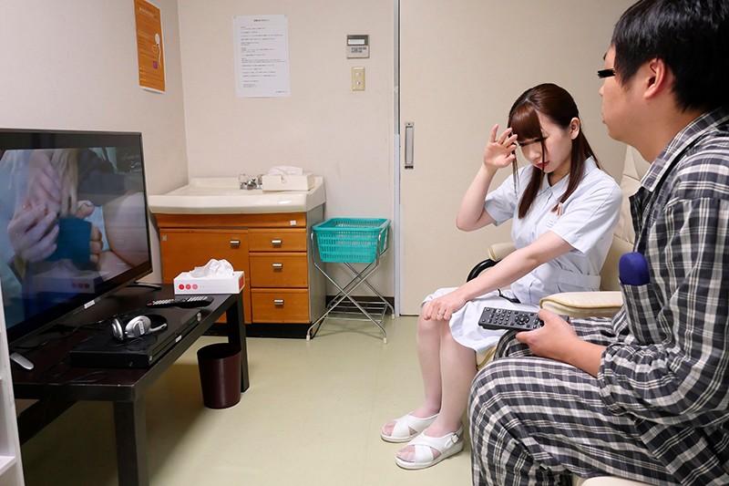 真夜採精室 状況勃起患者握人妻看護師嫌 DANDY-682 screenshot 0