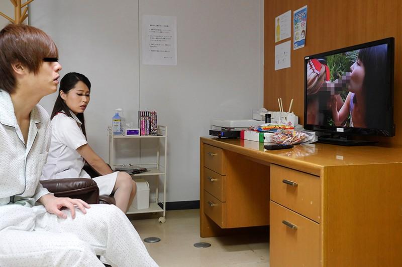 真夜採精室 状況勃起患者握人妻看護師嫌 DANDY-682 screenshot 7