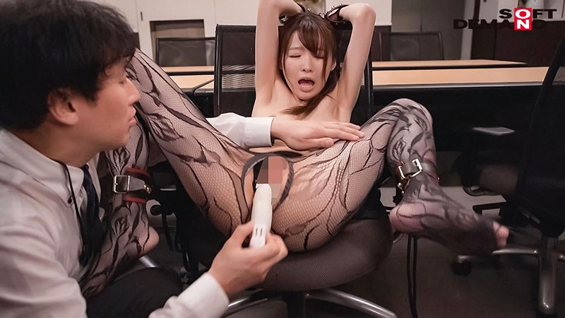 社内でコソコソ上司と不倫している受付嬢を寝取ってレ●プ 水沢美心 MSFH-037 screenshot 7