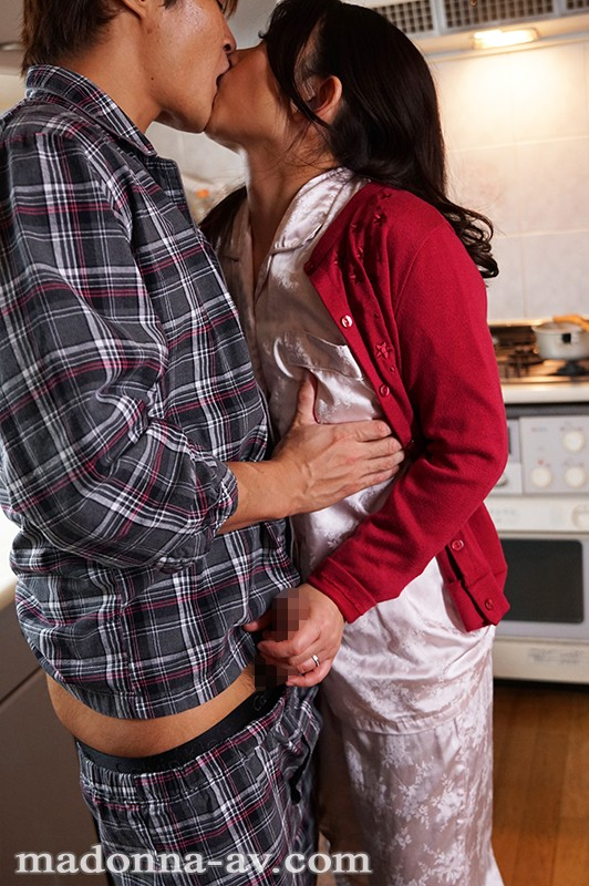 愛しさに濡れた昼下がり ~義母と息子の決して許されない背徳相姦~ 一色桃子 JUY-504 screenshot 0