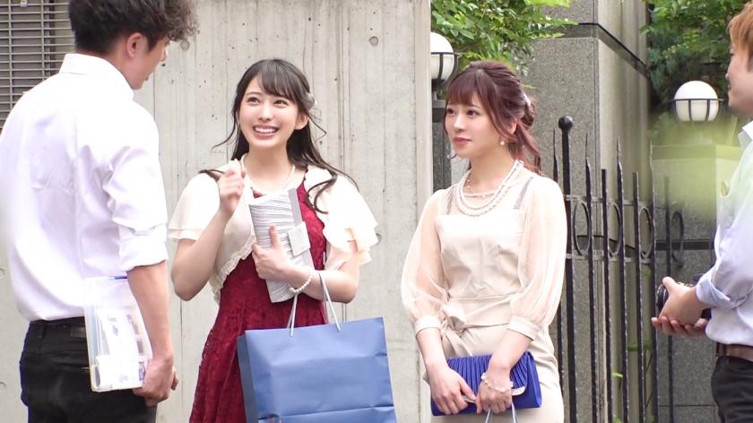 搭讪从婚礼现场出来穿着礼服的女孩拍照用套路成功无套内射 476MLA-001 screenshot 0